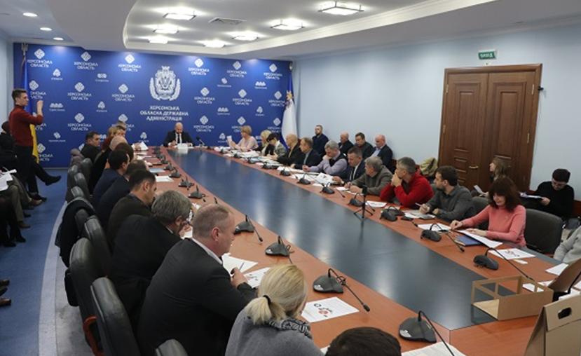 Засідання координаційної ради з питань розвитку рекреаційно-курортного комплексу та туризму на Херсонщині