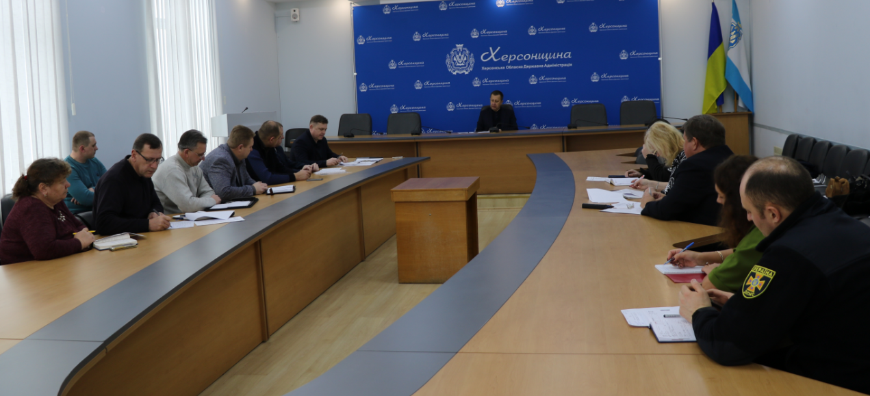 Засідання обласної Державної надзвичайної протиепізоотичної комісії