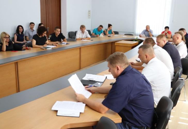 Засідання Державної надзвичайної протиепізоотичної комісіїпри Херсонській облдержадміністрації
