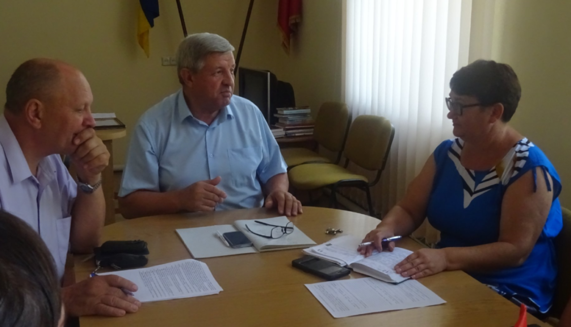 Засідання Нижньосірогозького районного штабу щодо посилення контролю за недопущенням торгівлі в неустановлених для цього місцях