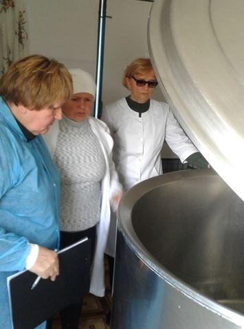 Інспектування молокоприймальних пунктів Скадовського району