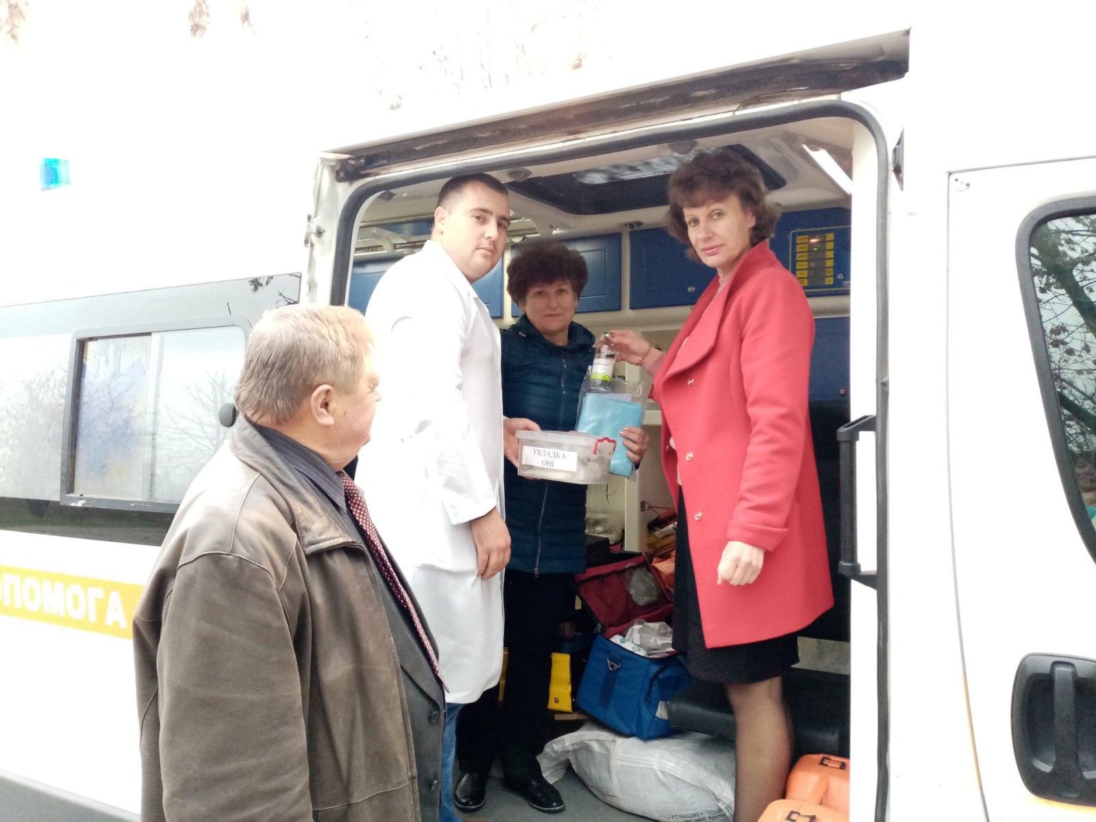 Позапланове обстеження Нижньосірогозької підстанції екстреної (швидкої) медичної допомоги