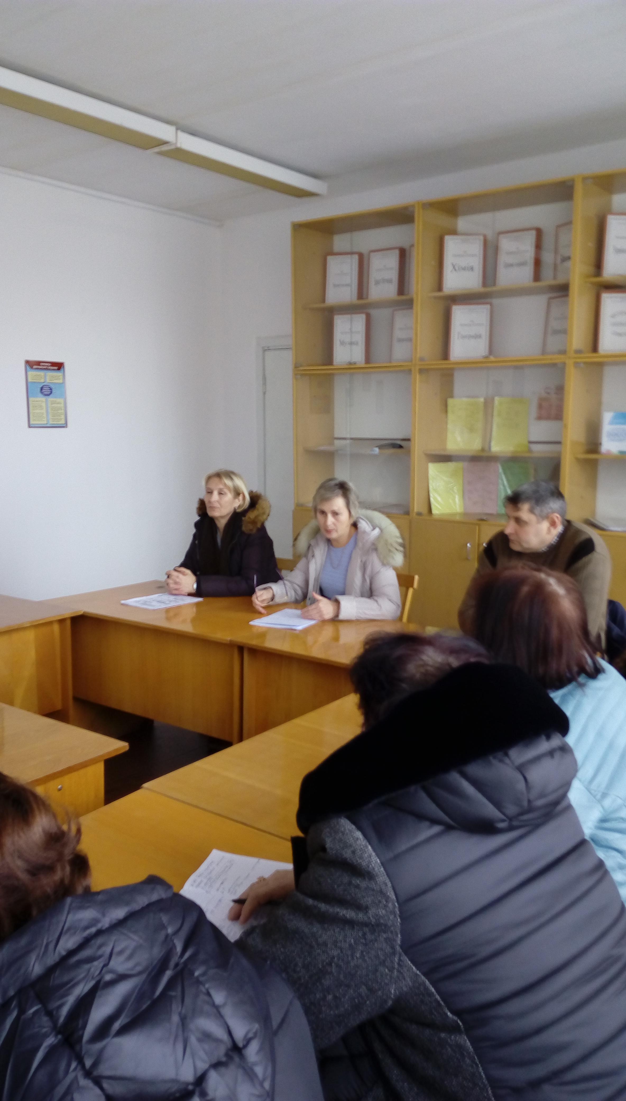 Нарада з організації харчування з освітянами Борозенської ОТГ Великоолександрівського району