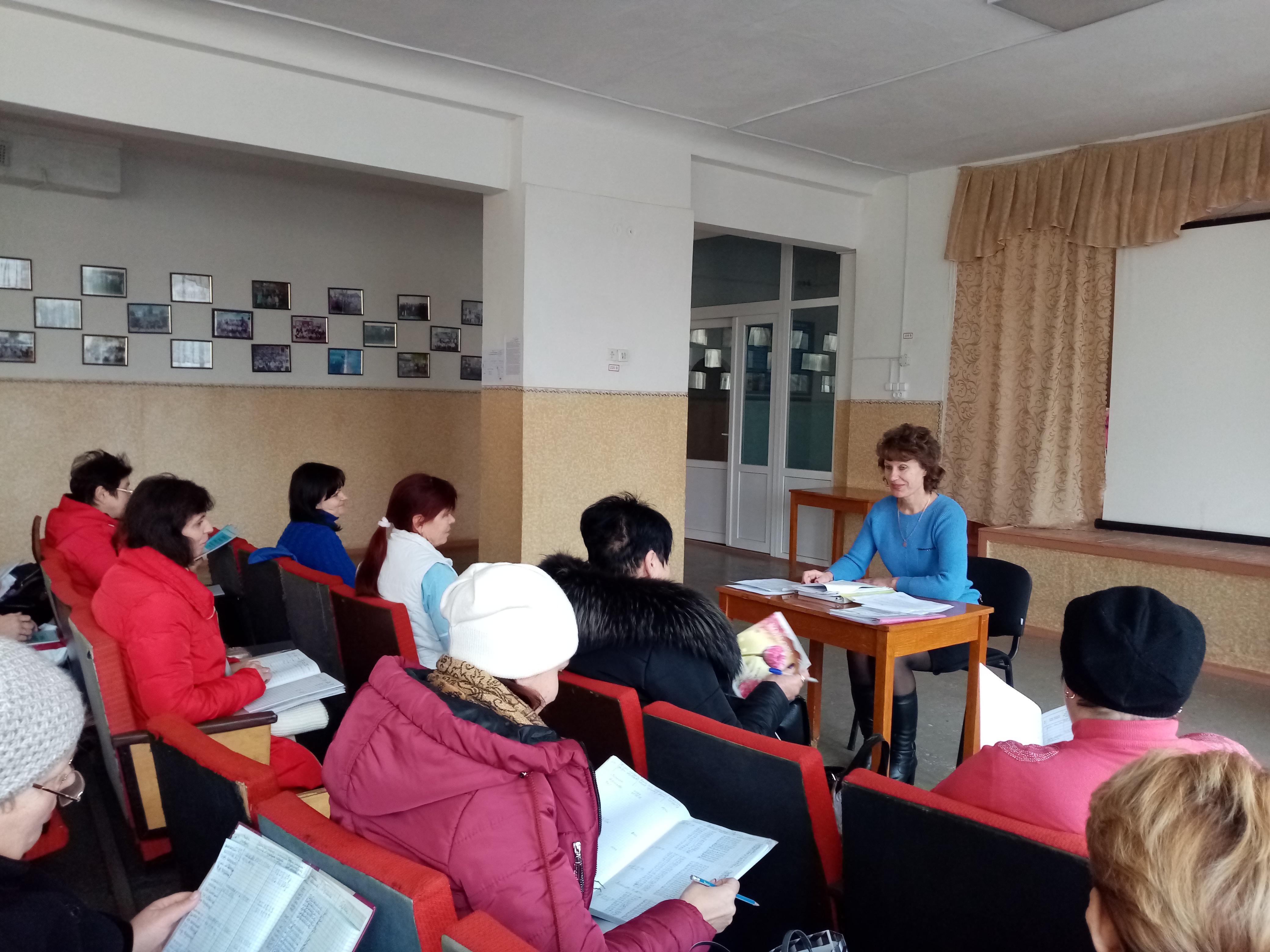 Нарада-семінар з завідувачами ДНЗ, медичними працівниками ЗОШ та ДНЗ Нижньосірогозького району