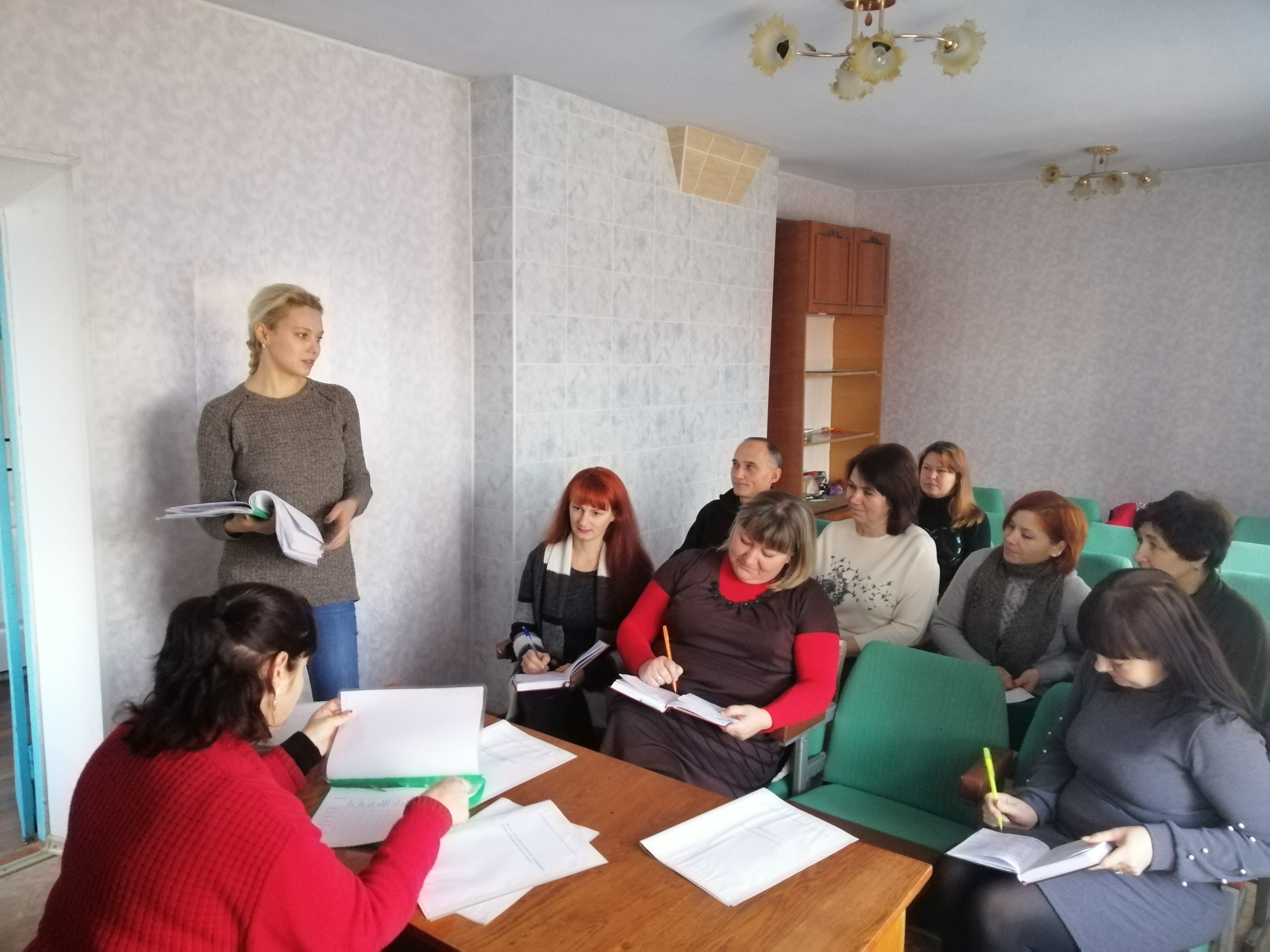 Виробнича нарада щодо  першочергових напрямків роботи фахівців  Великолепетиського району на І квартал 2020 року