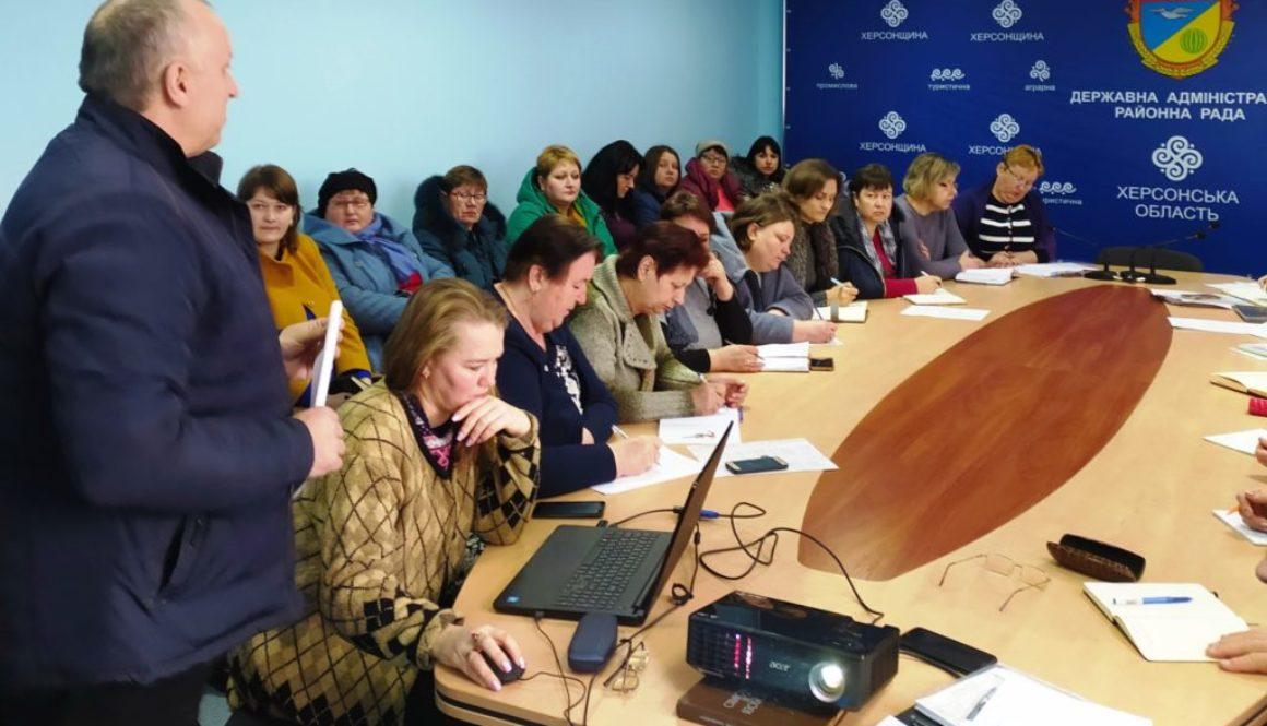 В Горностаївці проведли семінари-наради з операторами ринку харчових продуктів