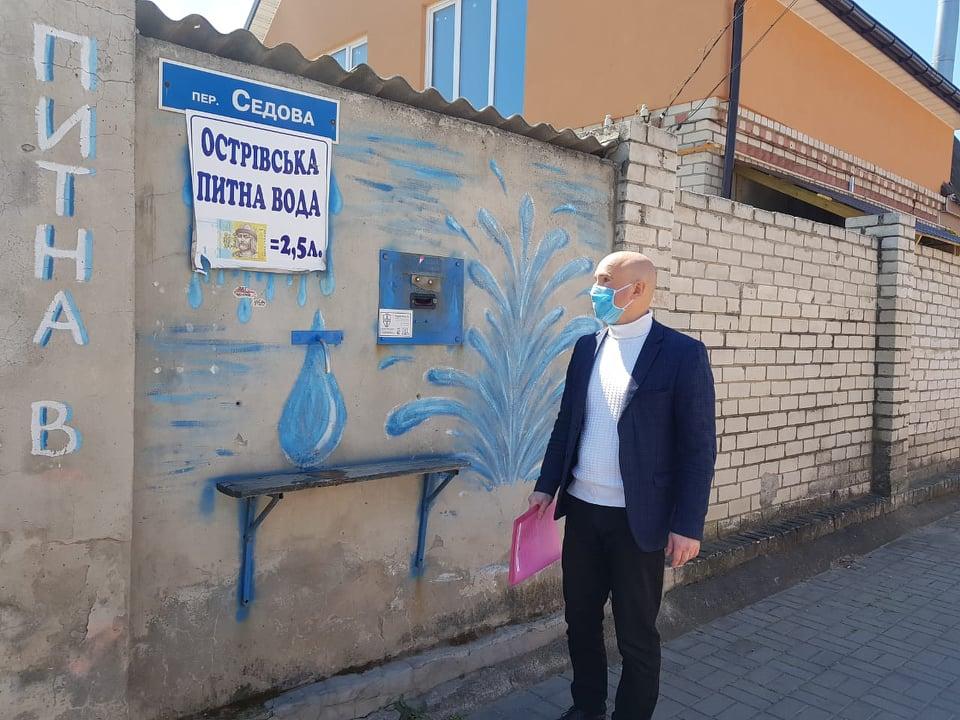 У Херсоні продають воду невідомого походження