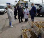 Позапланове інспектування оптового ринку в с. Великі Копані