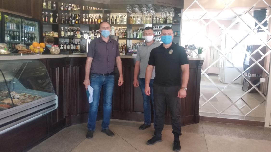 Дотримання карантинних обмежень в Нововоронцовському районі