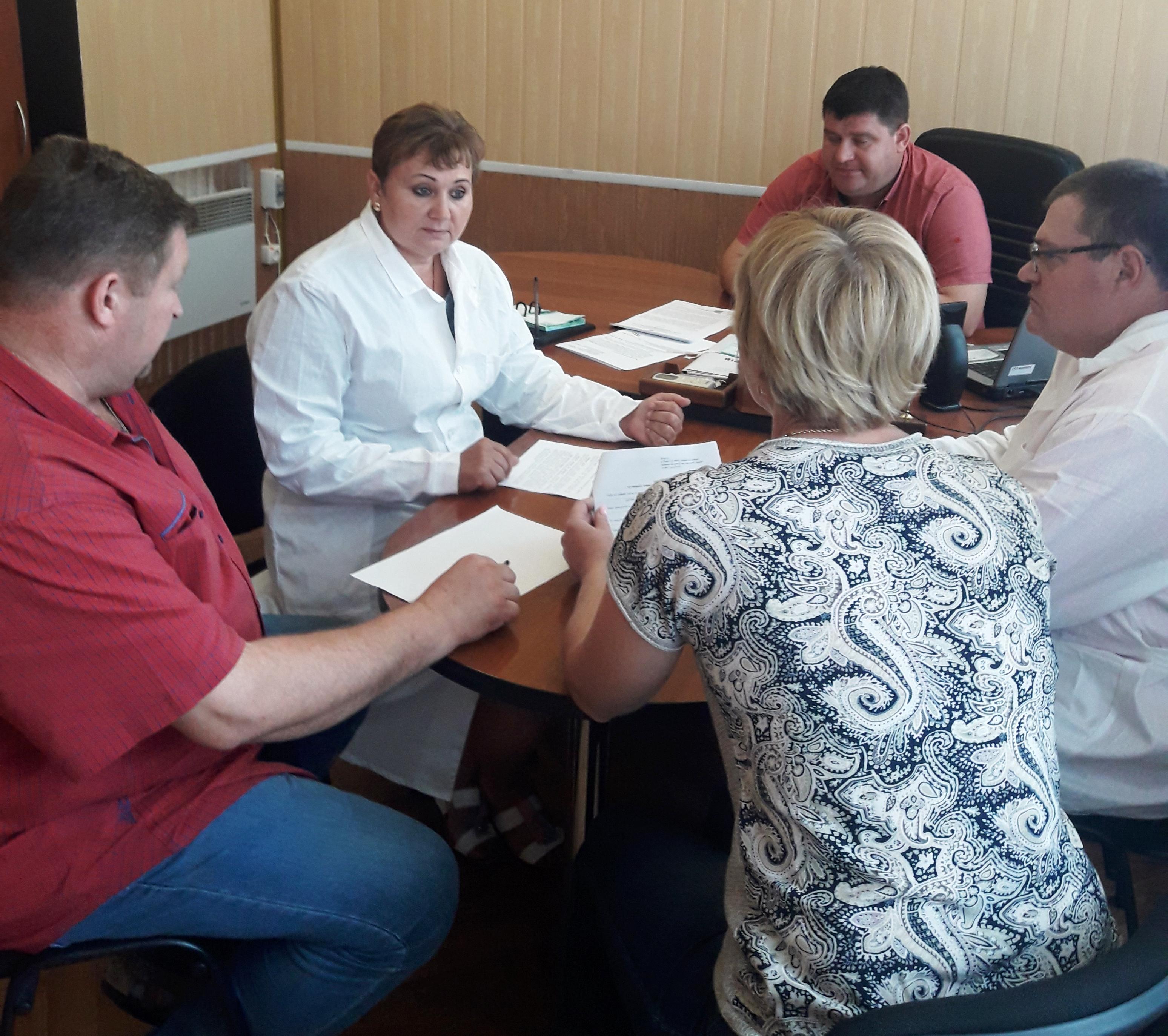 Тренінг для ветеринарів у Новотроїцькому районі