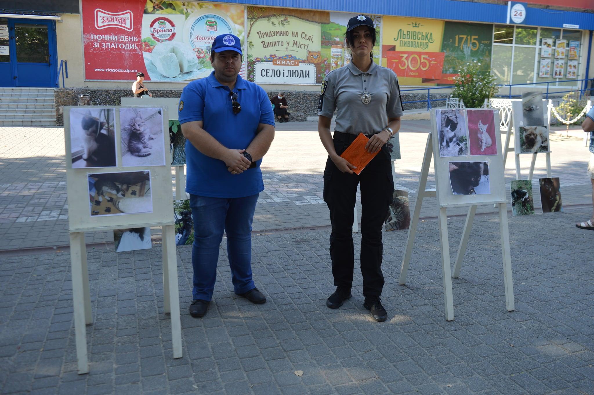 У Херсоні провели акцію проти жорстокого поводження з тваринами
