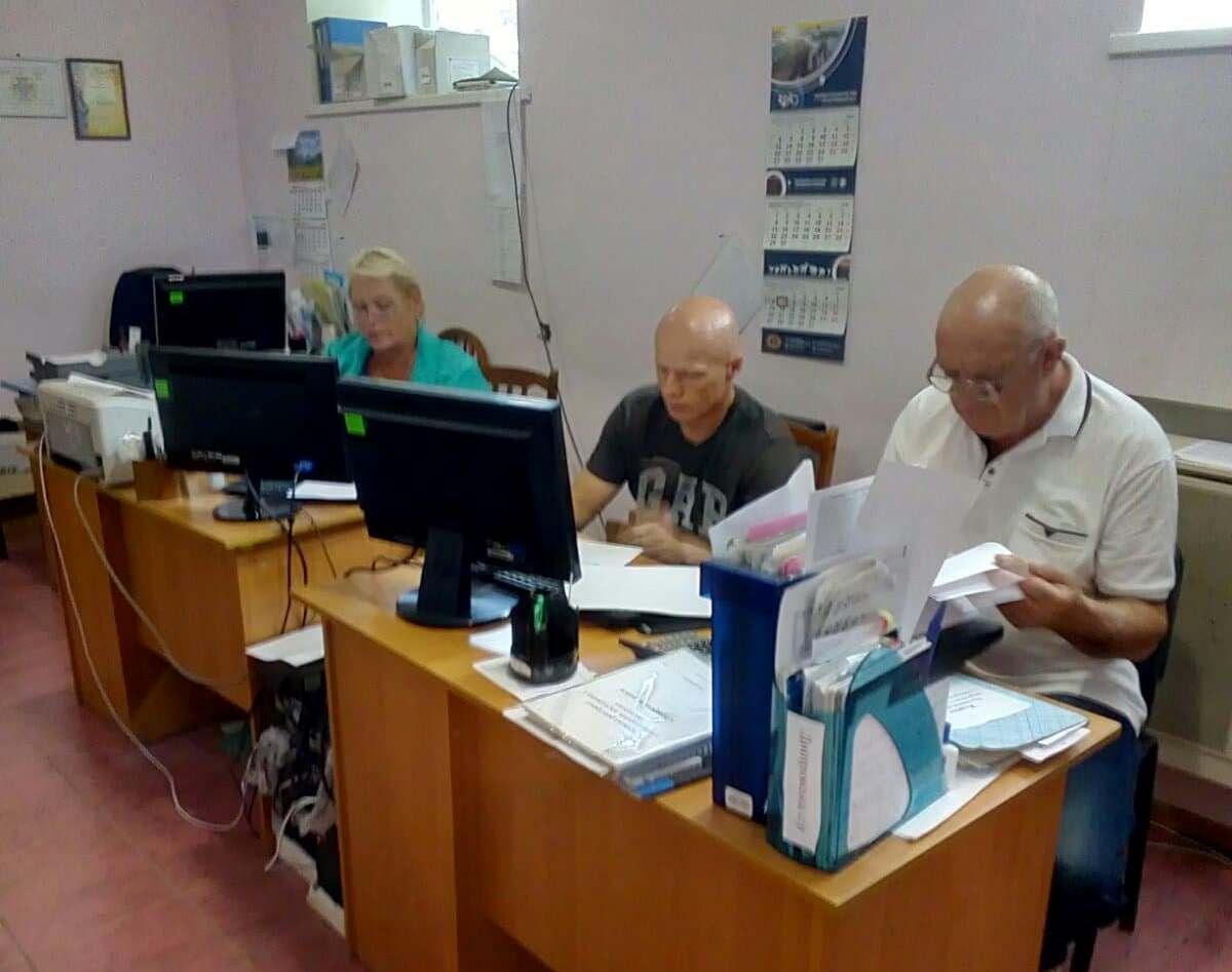 Тренінг з офіційними ветеринарними лікарями в Білозерському районі