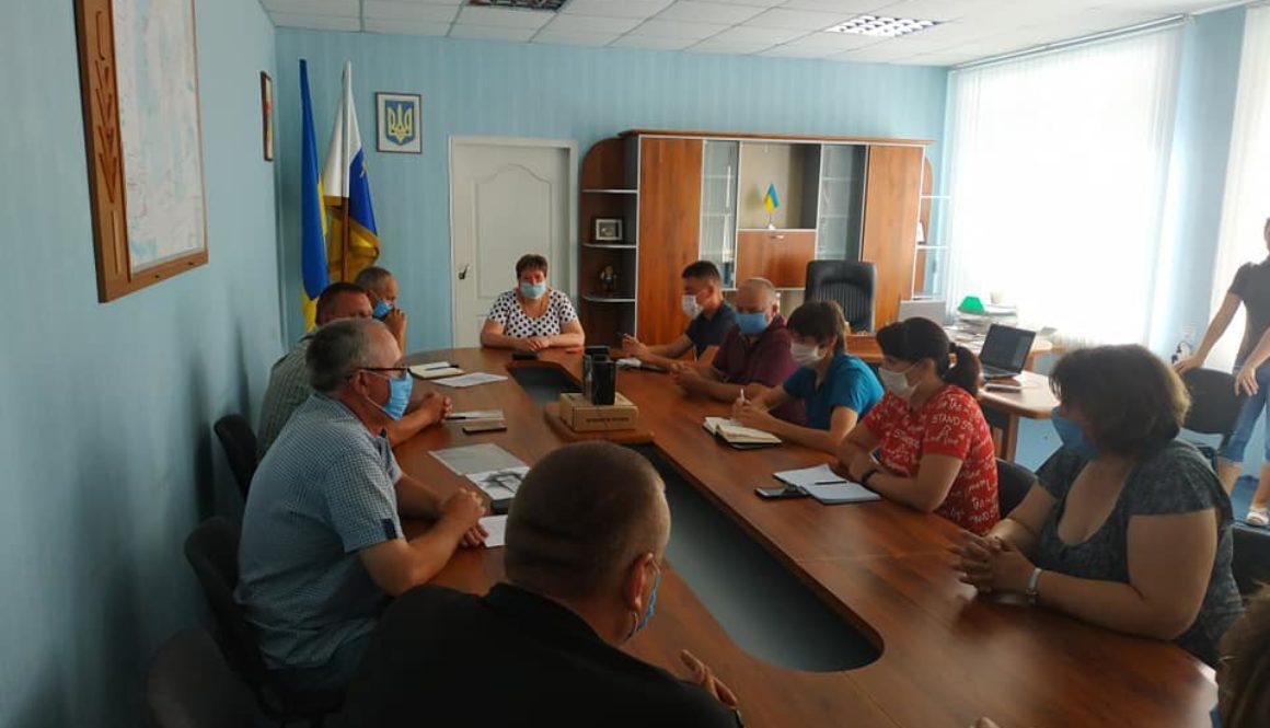 У Горностаївському районі відбулось засідання ДНПК