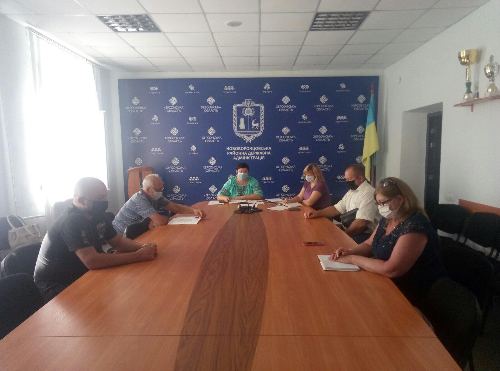 Засідання ДНПК при Нововоронцовській РДА