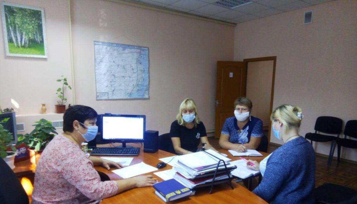 Робочі зустрічі з керівниками закладів освіти Нововоронцовського району