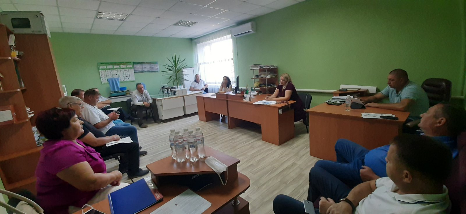 Співпраця Управління фітосанітарної безпеки з представниками сільгосппідприємств Чаплинського району