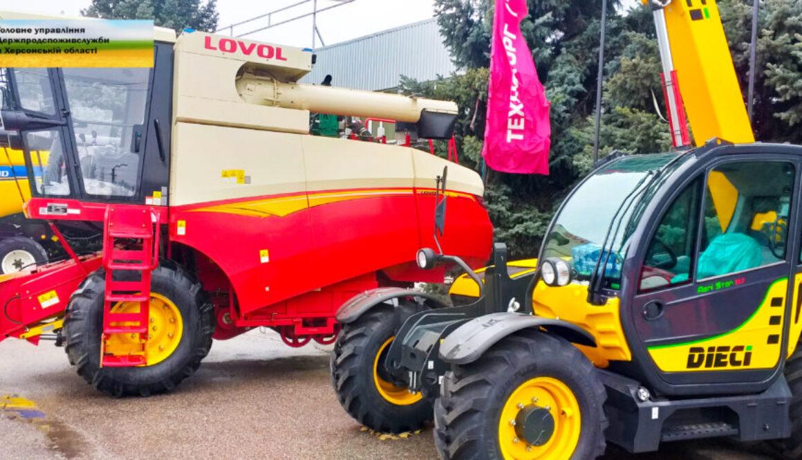 На Херсонщині стало більше трактористів і сільгосптехніки