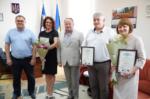 Працівників Головного управління Держпродспоживслужби в Херсонській області відзначили подяками обласної ради