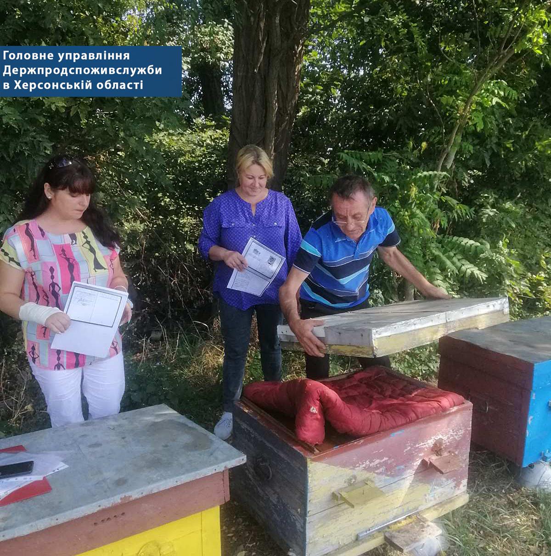 Великолепетиське управління бере участь в обстеженні особистих селянських господарств на предмет встановлення кількості наявних бджолосімей